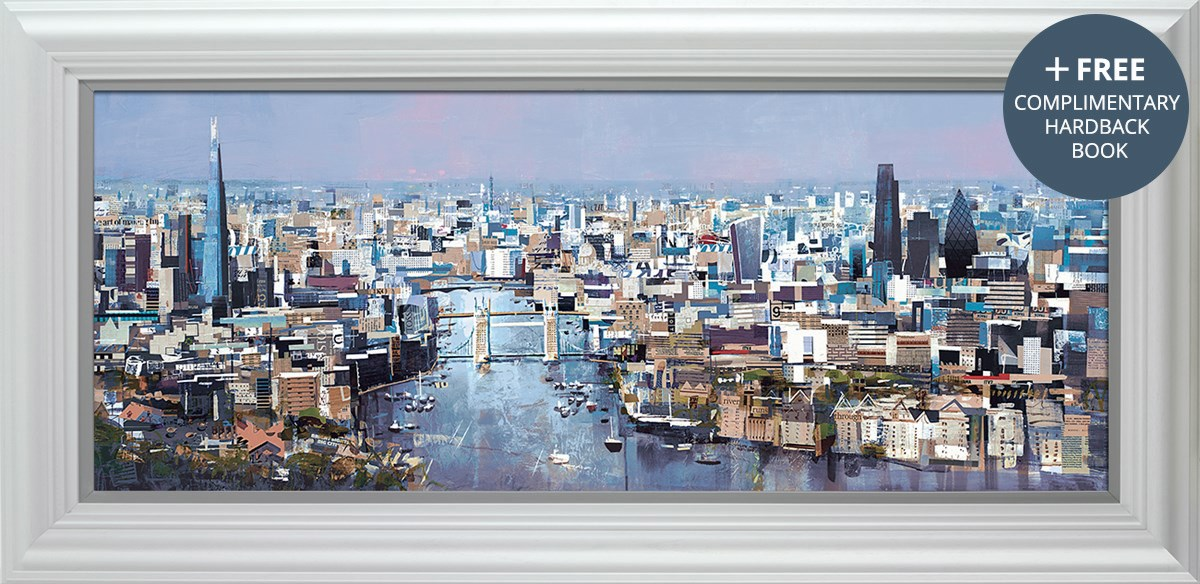 Spread the Love  by Tom Butler - Hand Finished Limited Edition on Paper sized 46x18 inches. Available from Whitewall Galleries